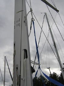 How to Climb with In-Mast Furling